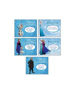 Disney Frozen Party Signs