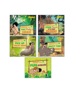 Jungle Book Party Signs