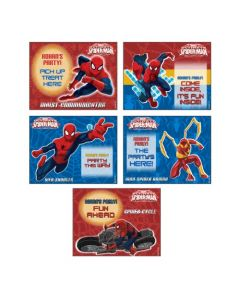 Spiderman Treat Bag Toppers