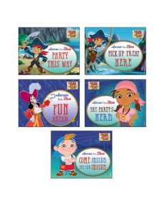 Captain Jake and the Neverland Party Signs
