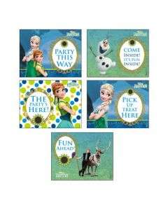 Disney Frozen Fever Party Signs