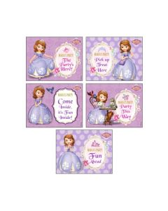 Sofia the first Enchanted Garden Party Party Signs