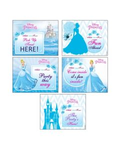 Disney Cinderella Party Signs