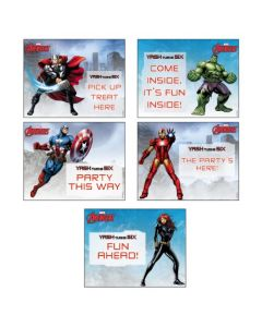 Avengers Party Signs
