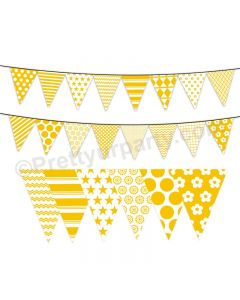 Yellow Pattern Bunting