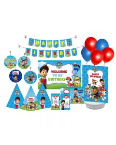 Paw Patrol Blue Party Decorations