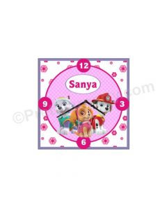 Personalised Ben and Holly's Little Kingdom Clock - Square