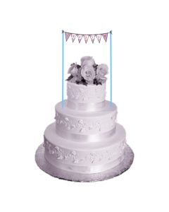 Sofia the first Enchanted Garden Party Cake Bunting