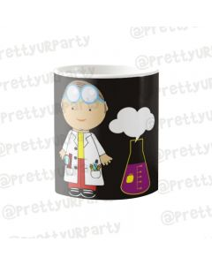 Personalised Mad Scientist Pen/Pencil Holder