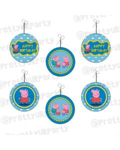 Peppa pig Inspired Danglers
