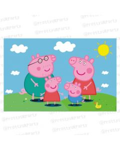 Peppa Pig personalized Placemats