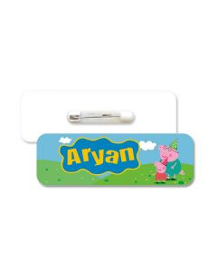 Peppa Pig Badge / Name Tag