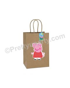 Peppa Pig Gift Bags- Pack of 10