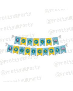 Peppa pig Inspired Bunting
