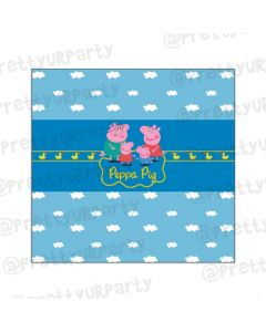 Peppa pig Inspired Chocolate Wrappers