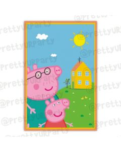 Peppa Pig inspired Poster  01