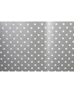 silver dots wrapping paper