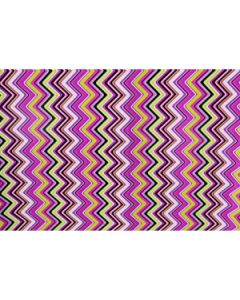multicolor chevron wrapping paper