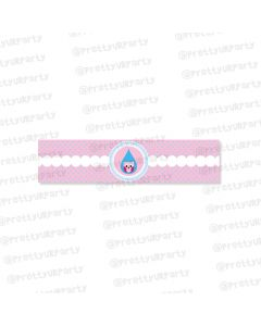 Pink and Blue Wrist Bands