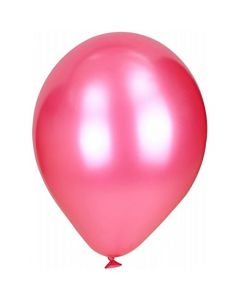 Pink Metallic Latex Balloon