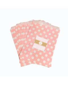Pink and Gold Ballet Candy Bag