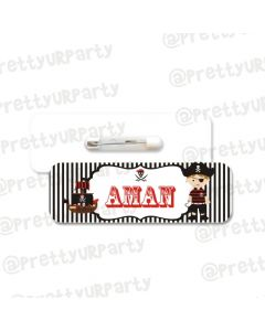 Pirate Theme Badge / Name Tag
