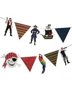 Pirate Paper Garland