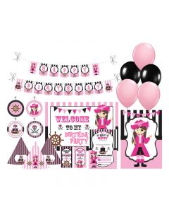 Girly Pirate Party Decorations