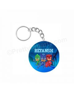 Personalized PJ Masks Keychain