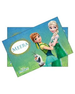 Frozen Fever personalized Placemats
