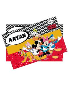 Mickey Mouse personalized Placemats