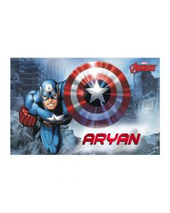 Captain America personalized Placemats