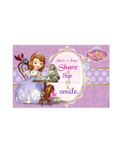 Sofia the first Enchanted Garden Party Placemats