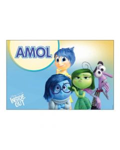 Inside Out personalized Placemats