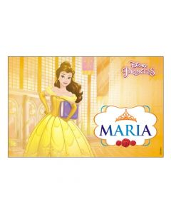 Belle personalized Placemats
