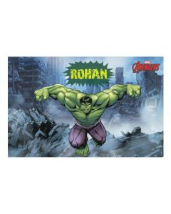 Hulk personalized Placemats
