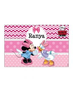 Minnie Mouse personalized Placemats