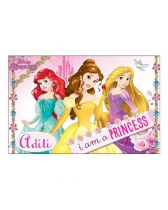 Disney Princess personalized Placemats