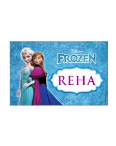 frozen personalised placemats
