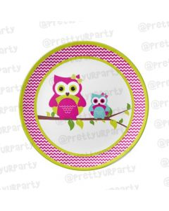 Personalised Girlyowl Plate