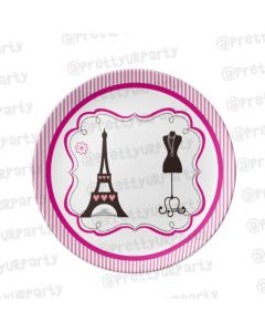 Personalised Paris Inspired Plate