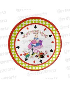 Personalised Alice in Wonderland Plate