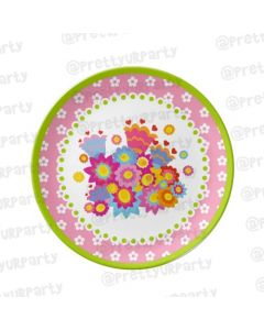 Personalised Flower Plate
