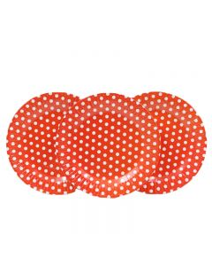 Red Polka Dots Paper Plates