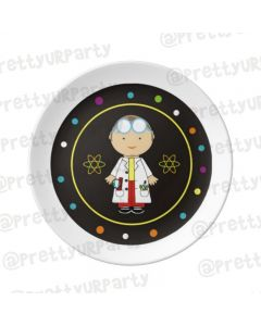 Personalised Mad Scientist Plate