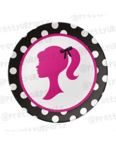 Personalised Barbie Plate