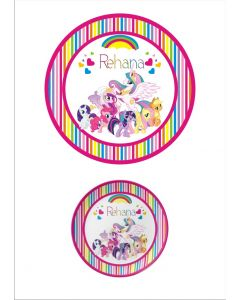 Personalised My Little Pony Plate