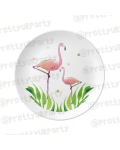 Personalised Flamingo Plate