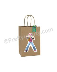 Pokemon Theme Gift Bags - Pack of 10