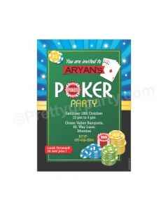 Poker E-Invitations